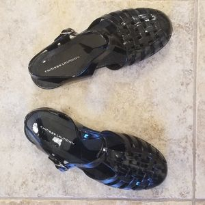 Chinese Laundry Shoes - NWT Chinese Laundry Jellies Black Sandals NEW